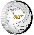 2020 JAMES BOND 007 1oz SILVER PROOF HIGH RELIEF COIN