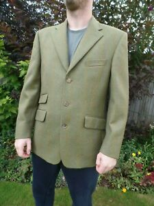 MENS ALPENDALE COUNTRY CLOTHING TWEED HACKING JACKET BLAZER 40 S VGC