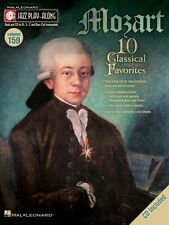 Mozart Jazz Play Along Book and CD NEW 000843220