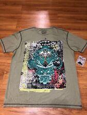 Retrofit Men's Graphic T shirt Sz L Green