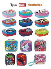 KIDS CHARACTER SANDWICH LUNCH BOX FOOD, FRUIT CONTAINER CHILDRENS SCHOOL, PICNIC
