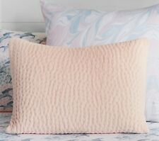 Pottery Barn Kids Clara Velvet Pillow Sham- Blush Pink Standard size