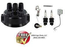JOHN DEERE 520 530 620 720 730 2 CYL TRACTOR DISTRIBUTOR IGNITION TUNE UP KIT