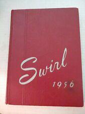 1956 Dover High School Yearbook  Dover Ohio OH - Swirl