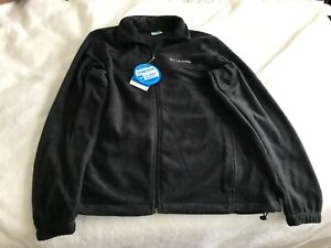 COLUMBIA SPORTSWEAR GRAY FLEECE JACKET WITH TAGS NEW LARGE
