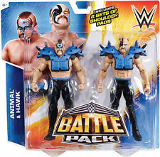 WWE MATTEL BATTLE PACK SERIE 34 Legion of Doom Hawk Animale Road Warriors NUOVO