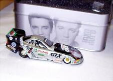 1:64 ACTION 2002 JOHN FORCE CASTROL GTX ELVIS 25TH ANNIVERSARY FUNNY CAR IN TIN