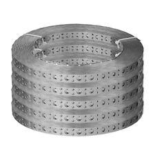 Edelstahl Lochband  V2A  Montagelochband  17 mm breit  1 Rolle ca 10 m   ....