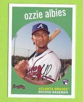 2018 Topps Archives - Ozzie Albies (#18)  Atlanta Braves