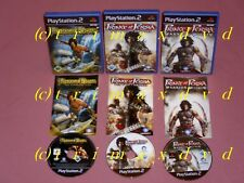 3x ps2 _ Prince of Persia the Sands of Time & Warrior Within & The Two Thrones