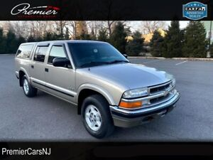 2003 Chevrolet S-10 LS Crew Cab / 4wd / Leather / Rust Free Must See!