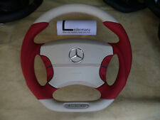 Mercedes W220 W215 cl cl500 s600 s500 s430 AMG flat bottom thick steering wheel