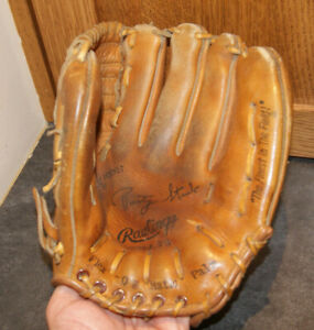 VINTAGE RAWLINGS Rusty Staub Youth BASEBALL GLOVE GJ 79 FLEX-O-MATIC PALM
