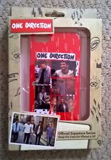 Officiel one direction signature iPhone 5/5S case-new in box