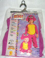 NEW! HALLOWEEN COSTUME The Purple Dinosaur Small 2-4 Years Jumpsuit Set Boy Girl