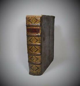 Luca SACRORUM BIBLIORUM VULGATAE EDITIONIS CONCORDANTIAE 1726 Lyon Valfray In-4°