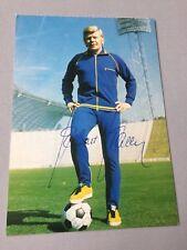 HELMUT HALLER († 2012) Vize-Weltmeister 1966  signed ältere Autogrammkarte 10x15