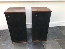 B&W DM4 Dark Brown Bowers and Wilkins Floor Standing Speakers Audiophile