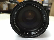 Tokina 90-230mm f/4.5 TELE ZOOM Lens for Pentax Screw Mount M42