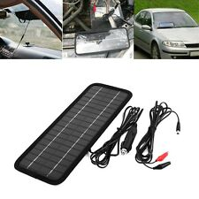 12V 4.5W Portable Solar Panel Power Battery Charger Backup For Vehicle Boat Moto