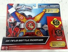 Power Rangers Ninja Steel Deluxe DX Ninja Battle Morpher With Sound 3 Modes Play
