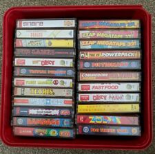 Bundle Of Commodore Game Cassettes