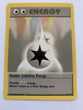 With 5 Double Colorless//Dark//Rainbow Energy Pokemon 200 Card Basic Energy Lot