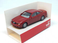 MINIATURE AUTO MERCEDES BENZ CL COUPE' ROSSO SCURO C 215 2000 HERPA 1/87 022880