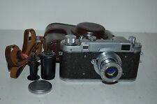 Fed-2 RARE PRE-SERIES Vintage 1955 Soviet Rangefinder & Case. 015323. UK Sale