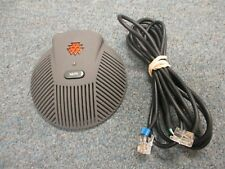 Polycom Sound Station EX 2201-00698-601 Extended Microphone MIC Pod W/ Cable