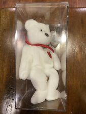 EXTREMELY RARE VALENTINO BEANIE BABY *SIGNED BY VALENTINO HIMSELF* WITH ERRORS