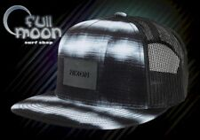 New Nixon Team Trucker Mens Black White Blend Snapback Cap Hat