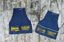 Vintage 1933-1946 selvage Jay R. Smith cotton denim apron New Orleans selvedge