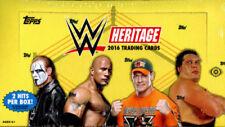 2016 TOPPS WWE HERITAGE WRESTLING HOBBY BOX FACTORY SEALED NEW