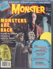 Monster Land October 1985 Roddy McDowall Sting Jennifer beals 013018DBE2