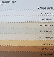 Tessuto Arredo Ecopelle h cm 140 in 29 Colori Tagli di 1 Metro o in Pezza 12 MT