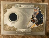 💖 2020-21  Artifacts UD Robin Lehner Threads of Time Jersey Buffalo Sabres