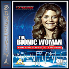 THE BIONIC WOMAN - COMPLETE COLLECTION *BRAND NEW DVD BOXSET***