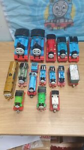 16 piece engine bundle Trackmaster Take n Play ERTL Thomas & Friends Tank