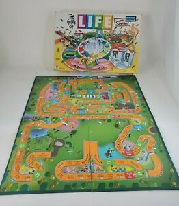 2004 Game of Life The Simpsons Edition - BOARD ONLY - REPLACEMENT PART