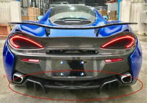 For McLaren 540C 570S 570GT OE Style Carbon Fiber Rear Diffuser Trim bodykits