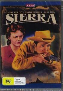 Sierra DVD Audie Murphy Brand New and Sealed Australian Release
