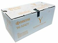 Kyocera TK-5242Y Ecosys M5526cdw P5026cdw Yellow Toner Cartridge [3 000 Yield]