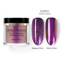BORN PRETTY 10ml Chameleon Dipping Powder System Mirror Effect Nail No UV CDP01
