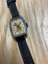 Vintage Us Time 9740 Mickey Mouse Watch