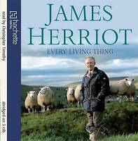 JAMES HERRIOTT EVERY LIVING THING CD AUDIOBOOK NEW SEALED FREE UK POST AUDIO