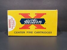 Western X Center Fire Cartridges 38 Special Box Only 158 Gr Lubaloy