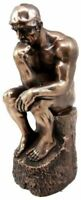 Philosophy Fine Figurine The Thinker Statue by Rodin Auguste Paris Museum Poet