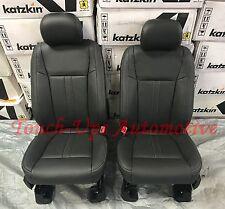 2015 2016 2017 2018 Ford F150 XLT Super Crew KATZKIN Leather Seat Lariat Design