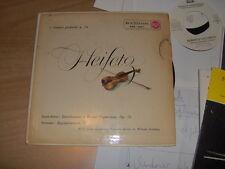 "7"" EP HEIFETZ VIOLINISTA SAINT SAENS SARASATE RCA ERA 163-1 1959 STEINBERG NMINT"
